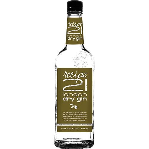 Recipe 21 London Dry Gin 1L