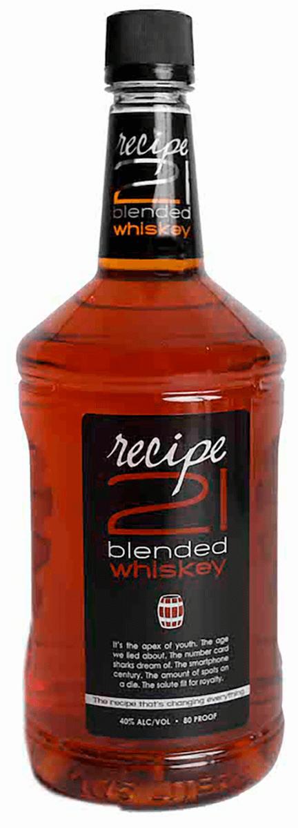 Recipe 21 Blended Whiskey 1.75L