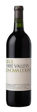 2017 Ridge Three Valleys 750ml