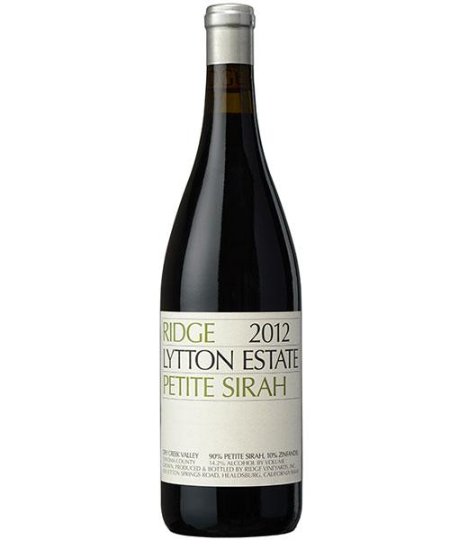 2016 Ridge Lytton Springs Estate Petite Sirah 750ml