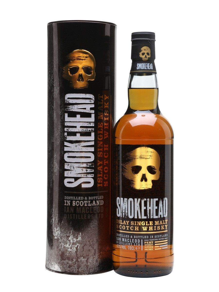 Smokehead Islay Single Malt Scotch Whisky 750ml