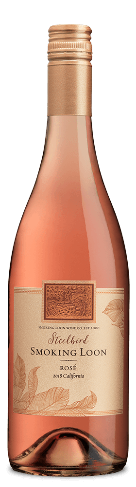 2018 Smoking Loon Steelbird Rose 750ml