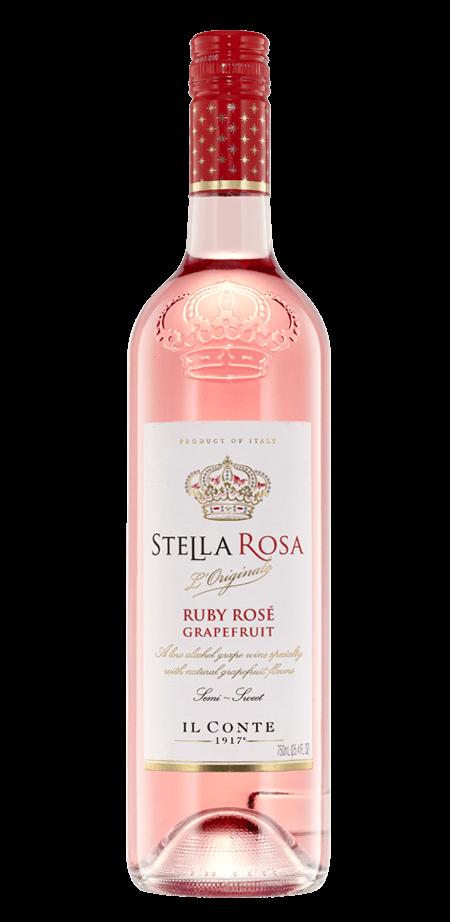 Stella Rosa Ruby Rose Grapefruit 750ml NV