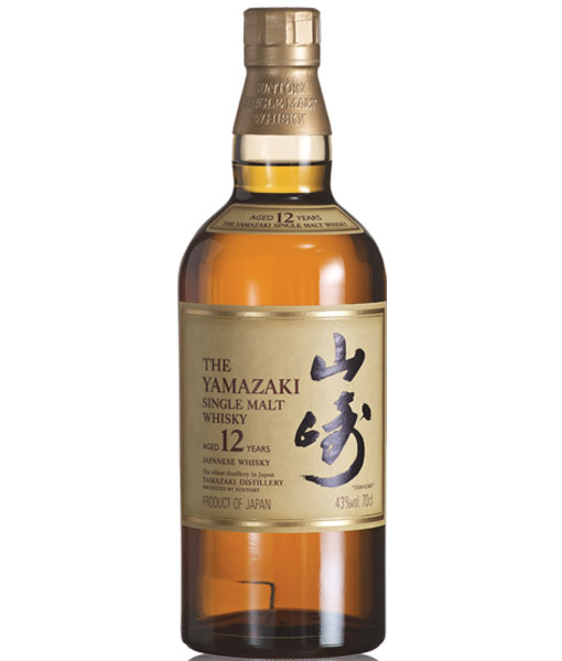 Suntory The Yamazaki 12Yr Japanese Whisky 750ml