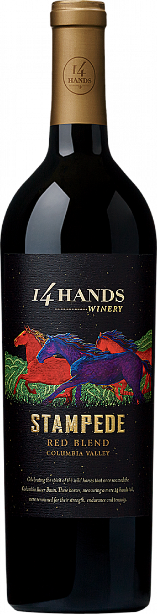 14 Hands Stampede Red 750ml NV