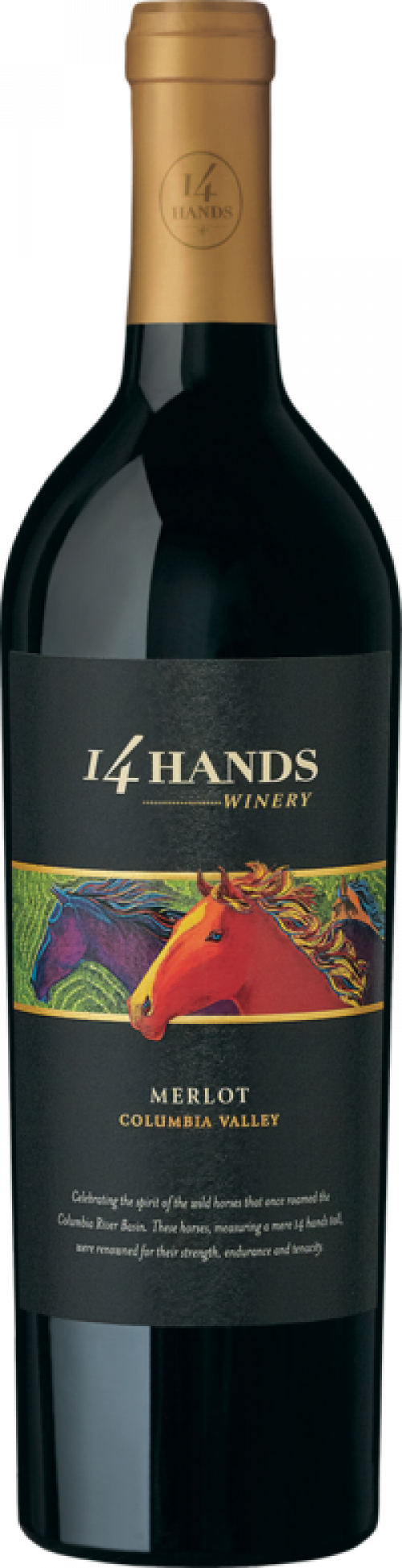 14 Hands Merlot 750ml NV