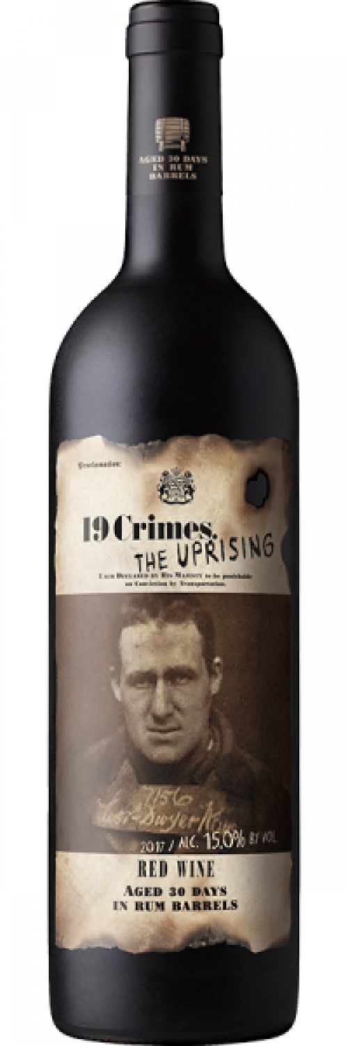 19 Crimes Uprising Red 750ml NV