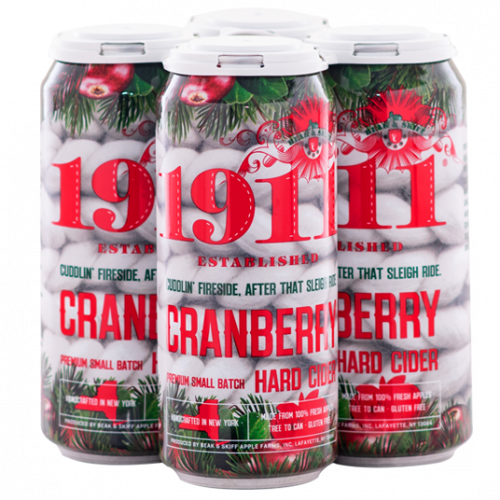 1911 Cranberry Hard Cider 4Pk-16 oz.