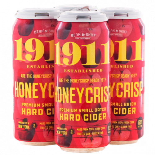 1911 Honeycrisp Hard Cider 4Pk-16 oz.