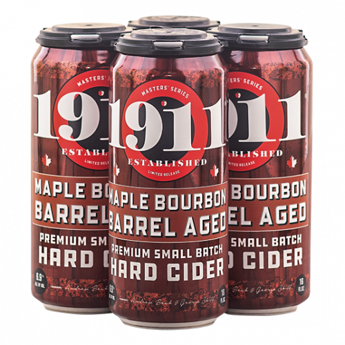 1911 Maple Bourbon Barrel Aged Hard Cider 4Pk-16oz. Cans