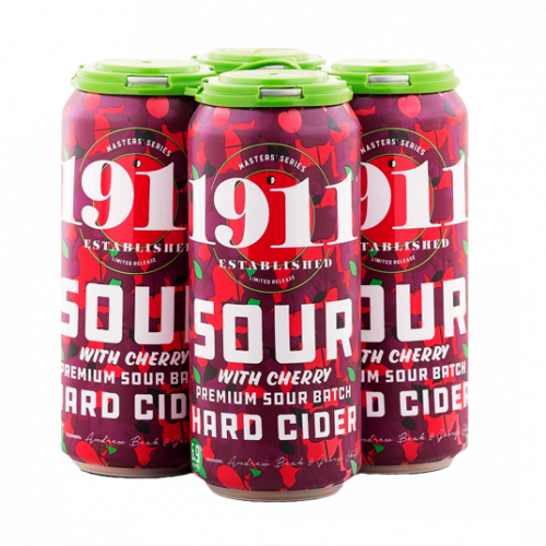 1911 Sour Cherry Hard Cider 4Pk-16oz.