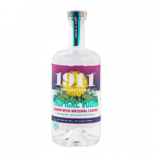 1911 Beak & Skiff Tropical Vodka 750ml