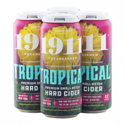 1911 Tropical Hard Cider 4Pk-16OZ. Cans
