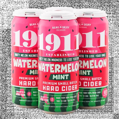 1911 Watermelon Mint Hard Cider 4Pk-16oz. Cans