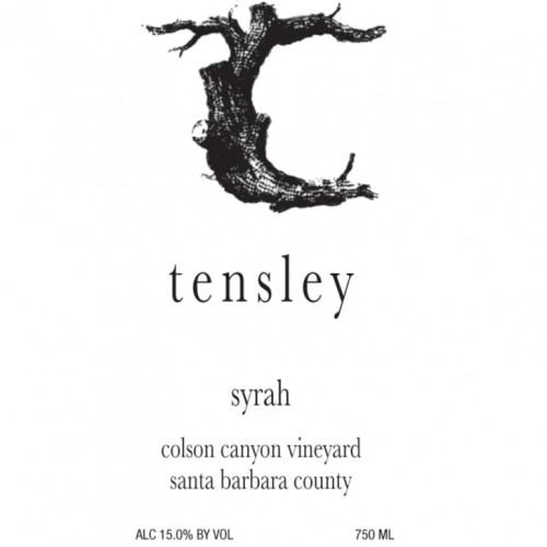 2014 Tensley Syrah Colson Canyon 750Ml