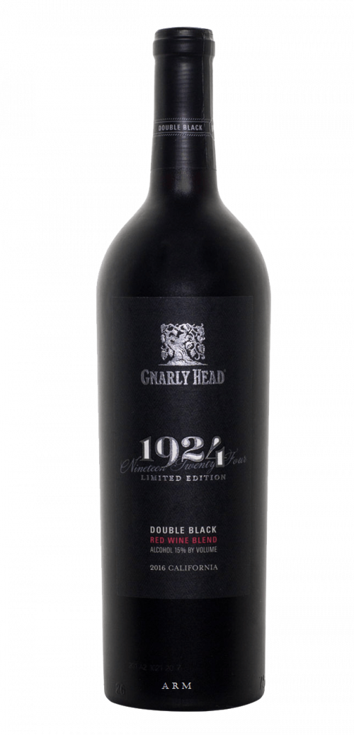 2016 Gnarly Head Double Black Cabernet Sauvignon 750Ml