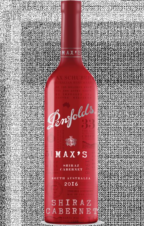 2018 Penfolds Max's Shiraz-Cabernet 750ml