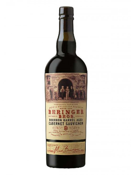 2017 Beringer Bros Bourbon Barrel Cabernet Sauvignon 750Ml