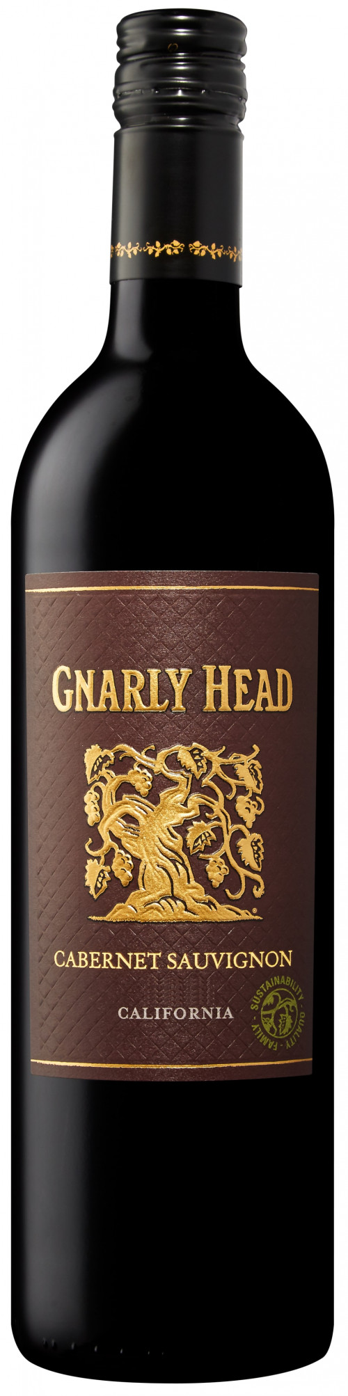 2017 Gnarly Head Bourbon Barrel Cabernet Sauvignon 750Ml