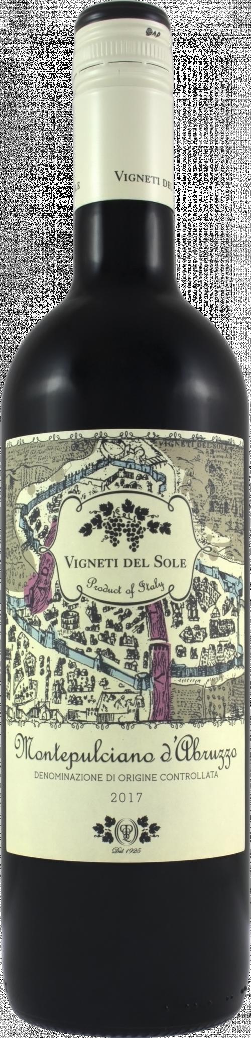2017 Vigneti Del Sole Montepulciano 750ml