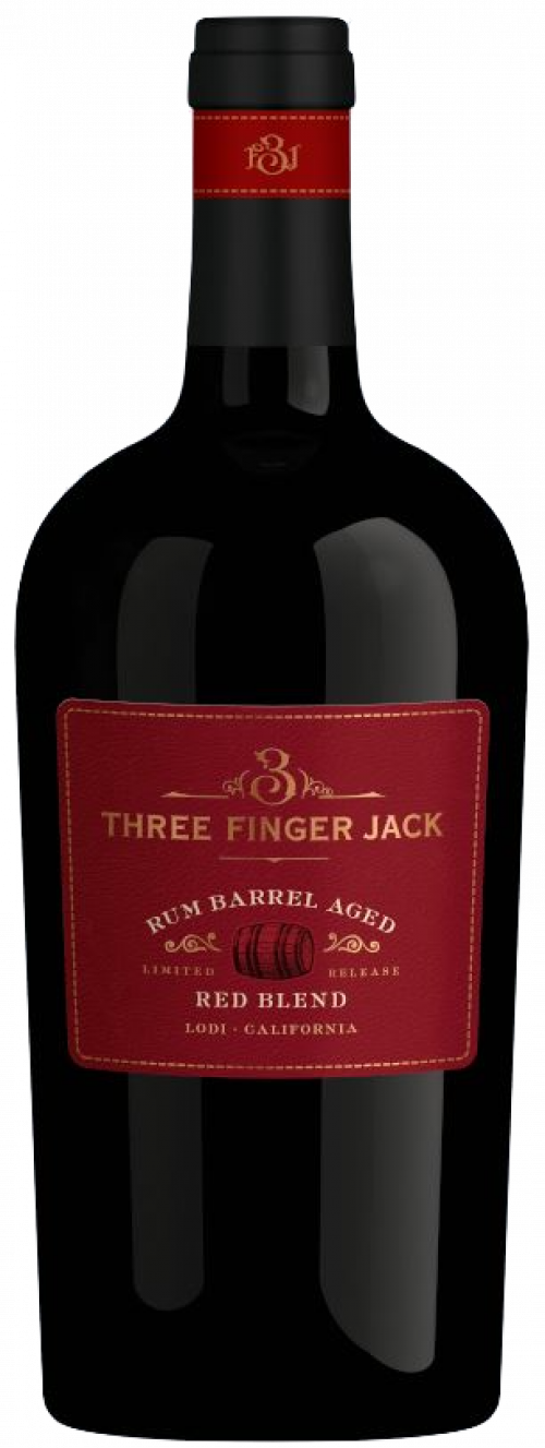 Three Finger Jack Rum Aged Red 750ml NV