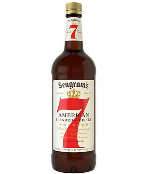 Seagram's 7 Crown Whiskey 1L