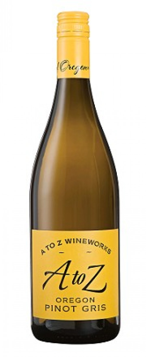 2018 A to Z Pinot Gris 750ml