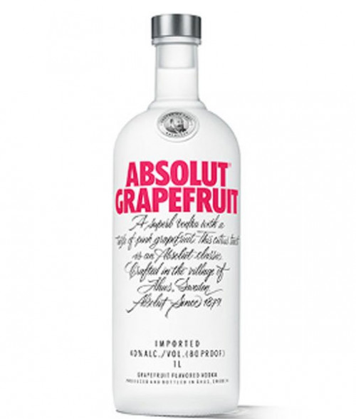Absolut Grapefruit Vodka 1L