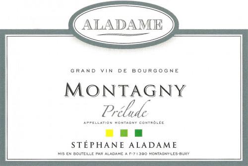 2017 Aladame Montagny Prelude 750ml