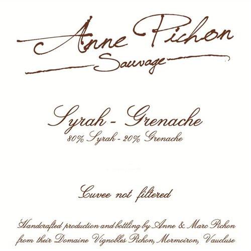 2017 Anne Pichon Syrah/Grenache 750ml