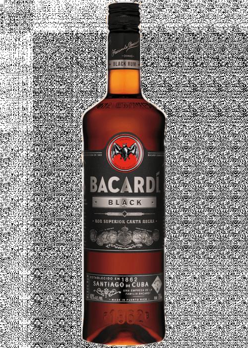 Bacardi Black Rum 1L