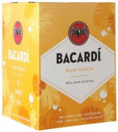 Bacardi Rum Punch 4Pk - 355Ml Cans