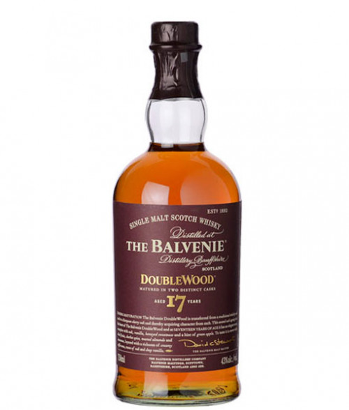 Balvenie 17Yr Doublewood Highland Single Malt Scotch 750ml