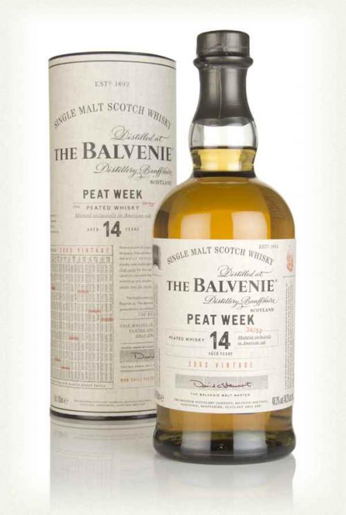 Balvenie 14Yr Peat Week Single Malt Scotch 750Ml