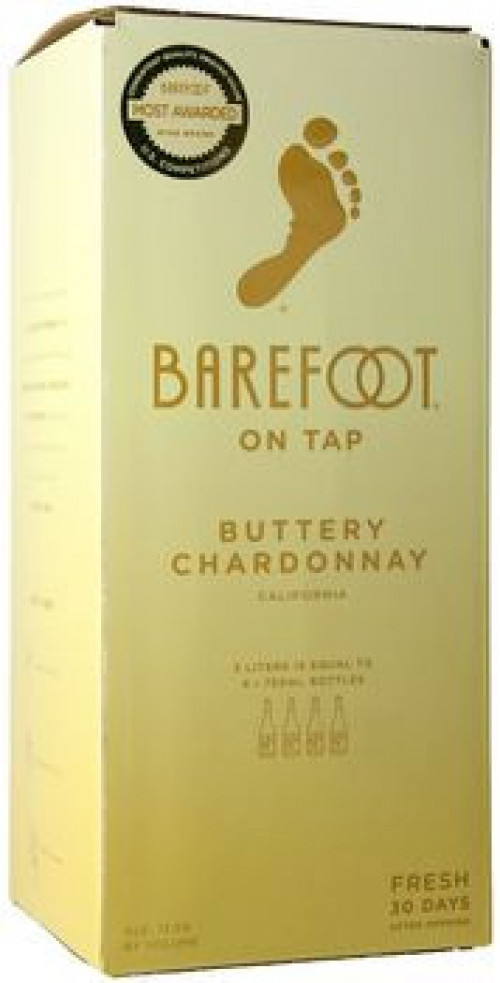 Barefoot Cellars Buttery Chardonnay 3L Box NV