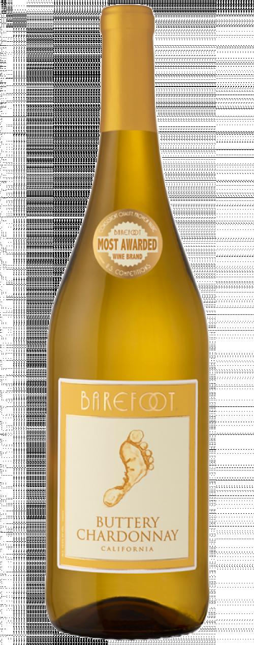 Barefoot Buttery Chardonnay 750ml NV
