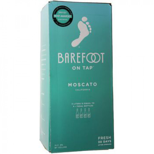 Barefoot Cellars Moscato 3L Box NV