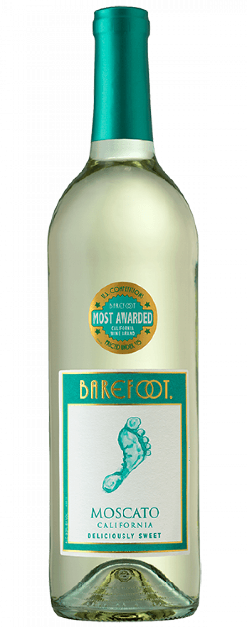 Barefoot Moscato 750ml NV