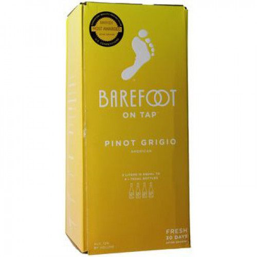 Barefoot Cellars Pinot Grigio 3L Box NV