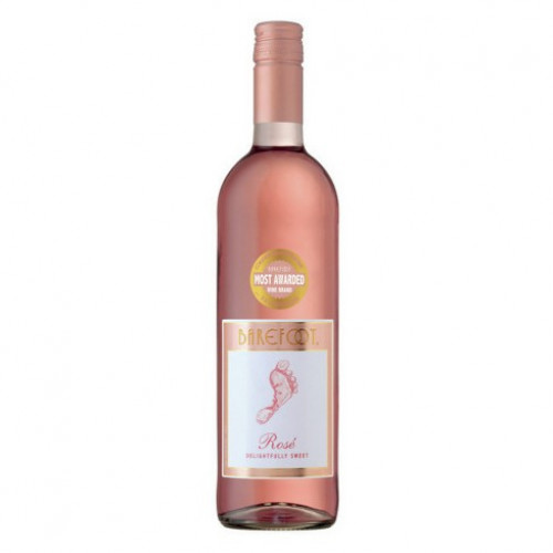 Barefoot Rose 750ml NV