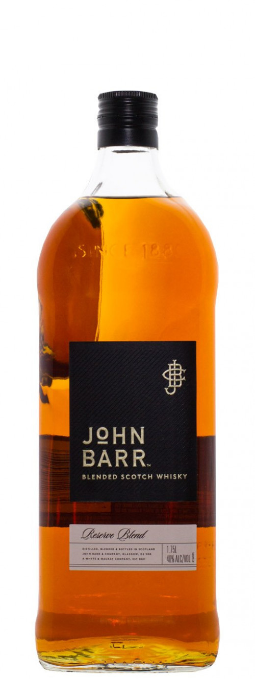 John Barr Black Blended Scotch 1.75L