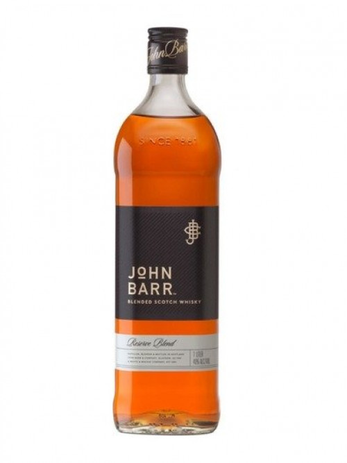John Barr Black Blended Scotch 1L