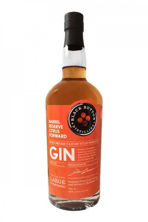 Black Button Barrel Reserve Citrus Gin 750ml