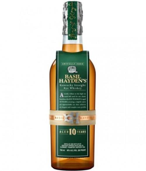 Basil Hayden's 10Yr Rye Whiskey 750ml