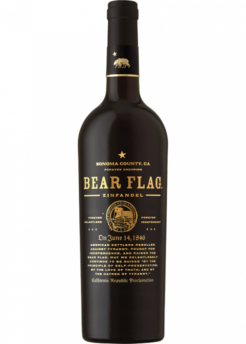 Bear Flag Zinfandel 750ml NV