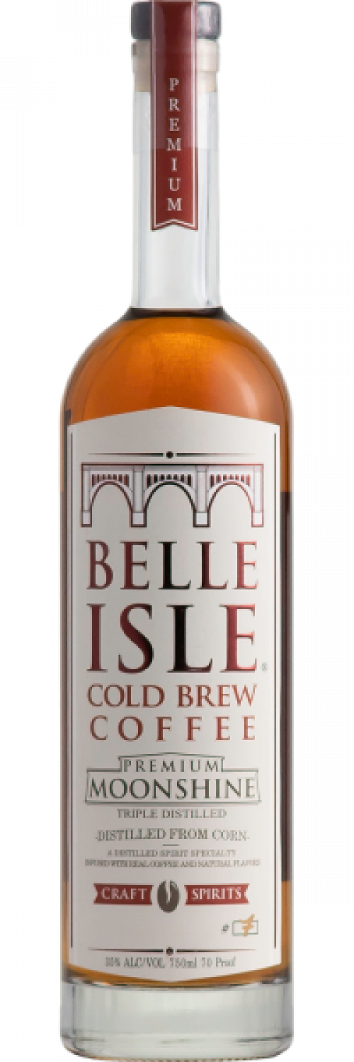 Belle Isle Cold Brew Coffee Premium Moonshine 750ml