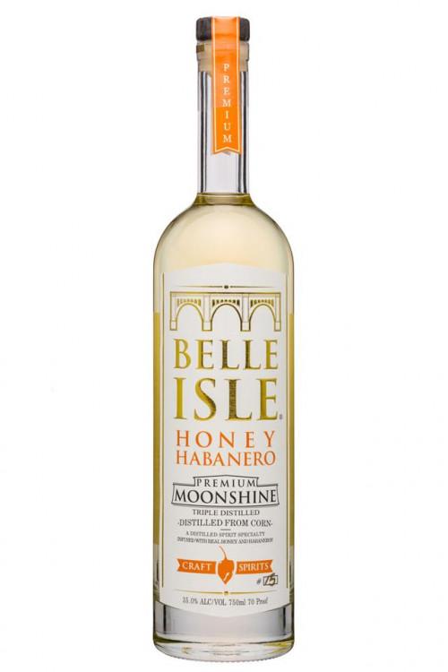 Belle Isle Honey Habanero Premium Moonshine 750ml