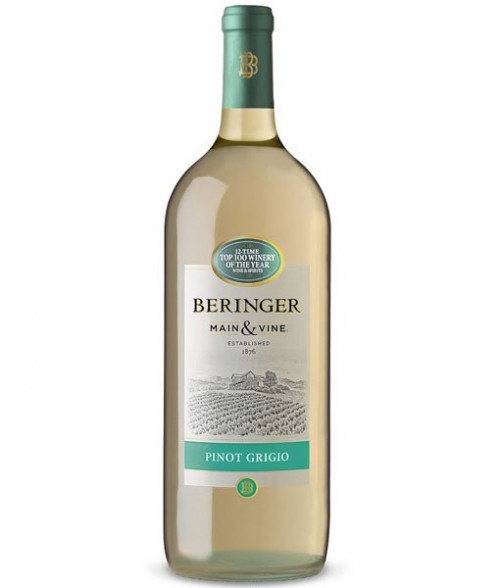 Beringer Main & Vine Pinot Grigio 1.5L NV