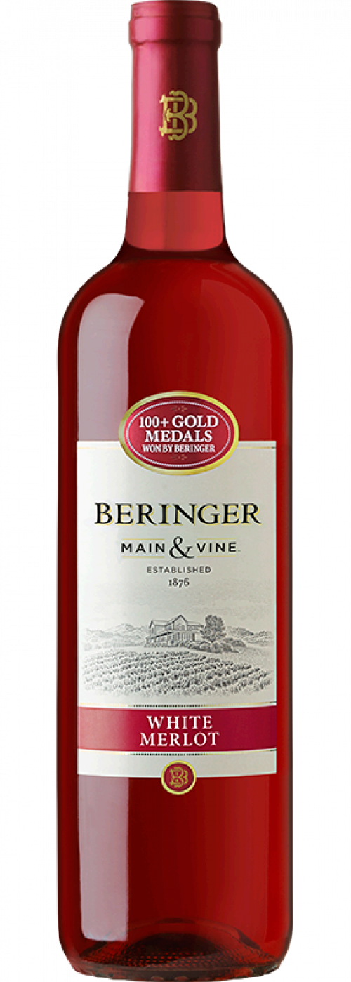 Beringer Main and Vine White Merlot 750ml