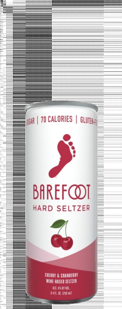 Barefoot Hard Seltzer Cherry & Cranberry 4Pk of 250ml Cans
